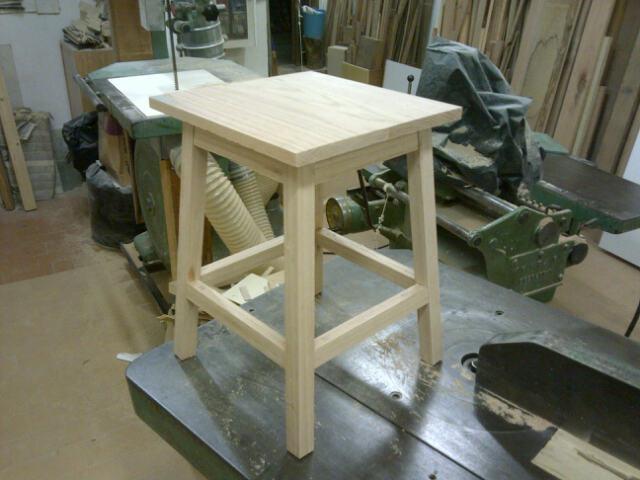 Sgabello da lavoro u2013 per la bottega legno senza parole